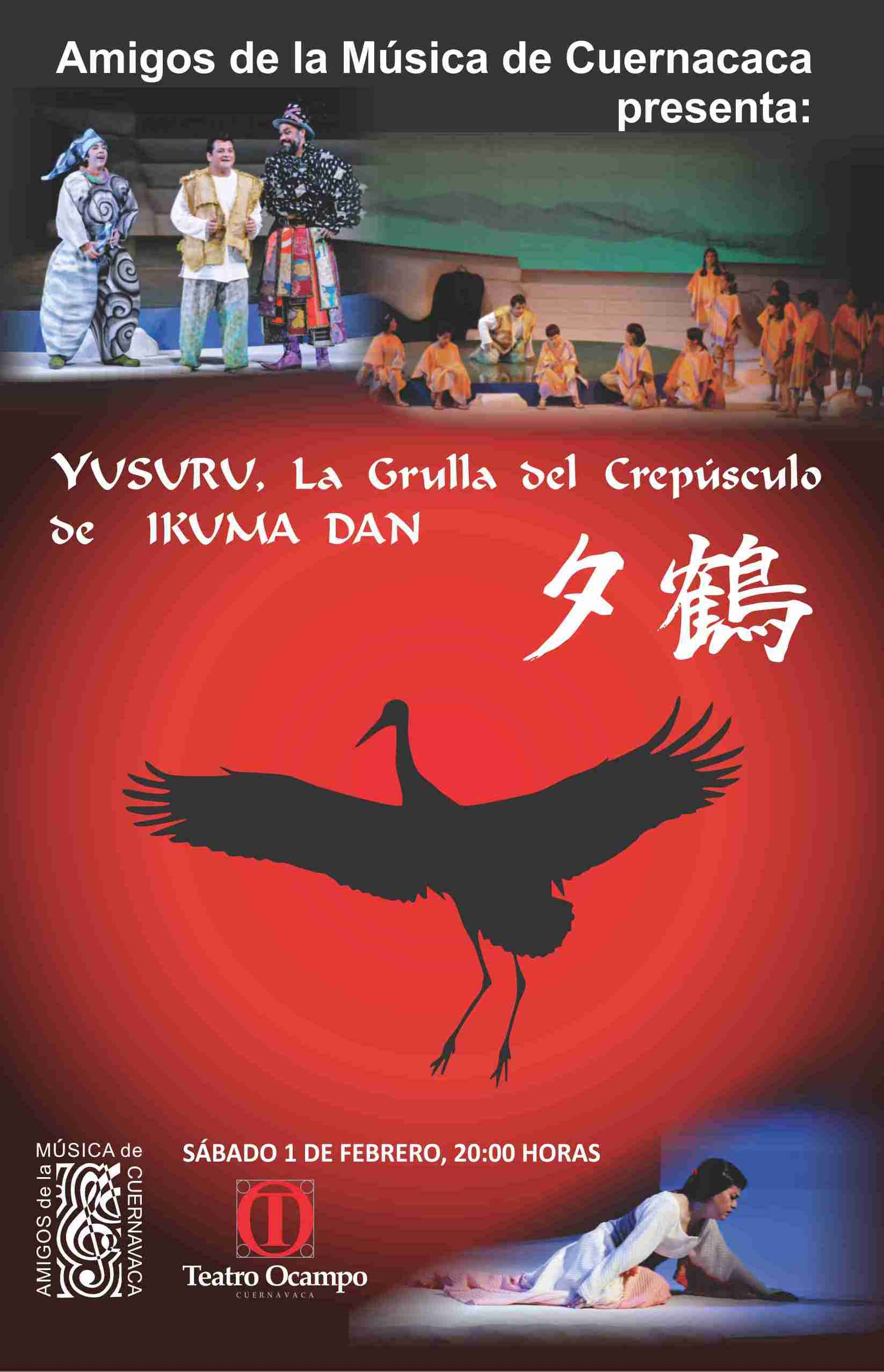 Ópera Yuzuru – Ikuma Dan – Cuernavaca